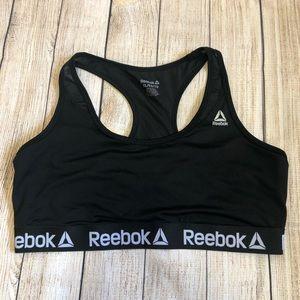 Reebok Black Sports Bra